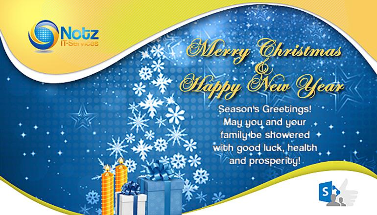 Weihnachts- & Neujahrskarte